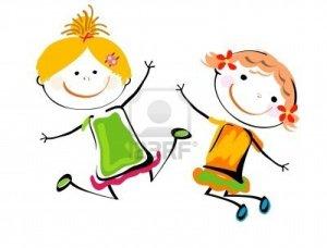 8476916-best-friends-happy-girls-playing